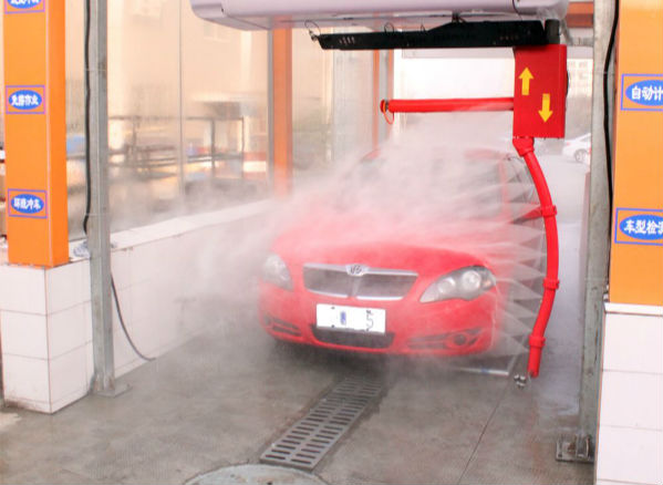 The application of ozone in the car wash industry